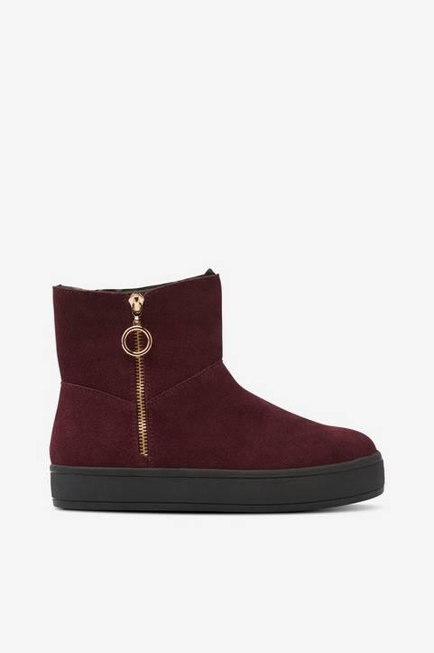 Boots Zip Suede