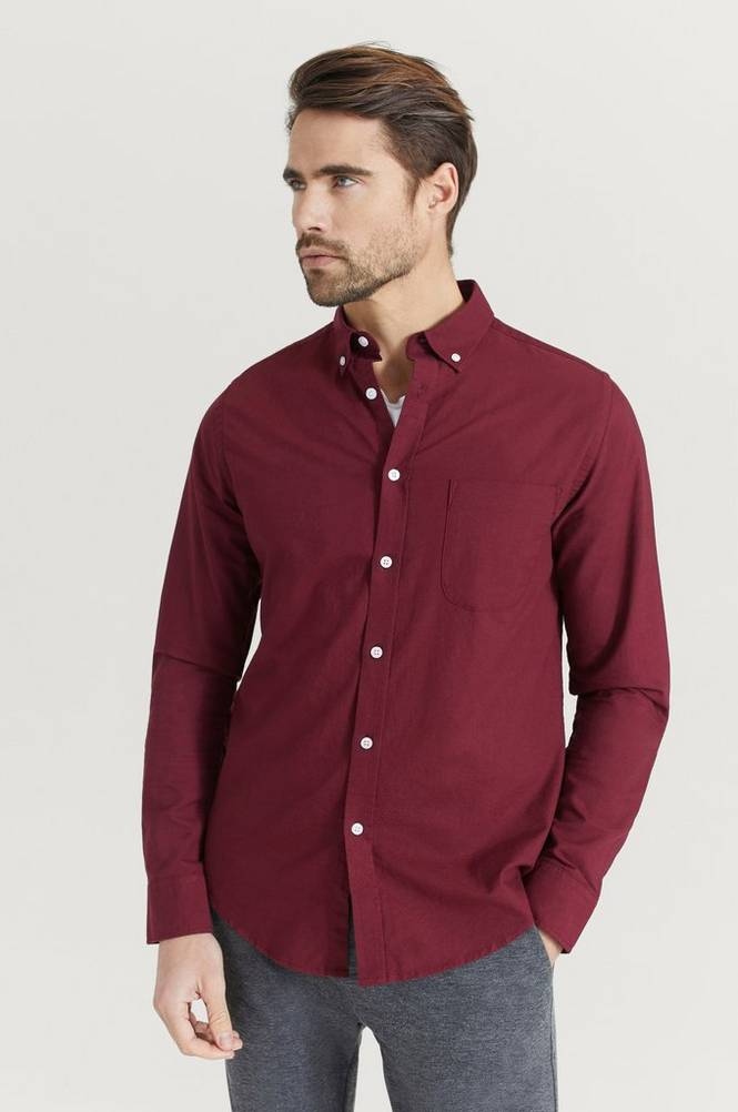 Studio Total Skjorte Melker Oxford Shirt