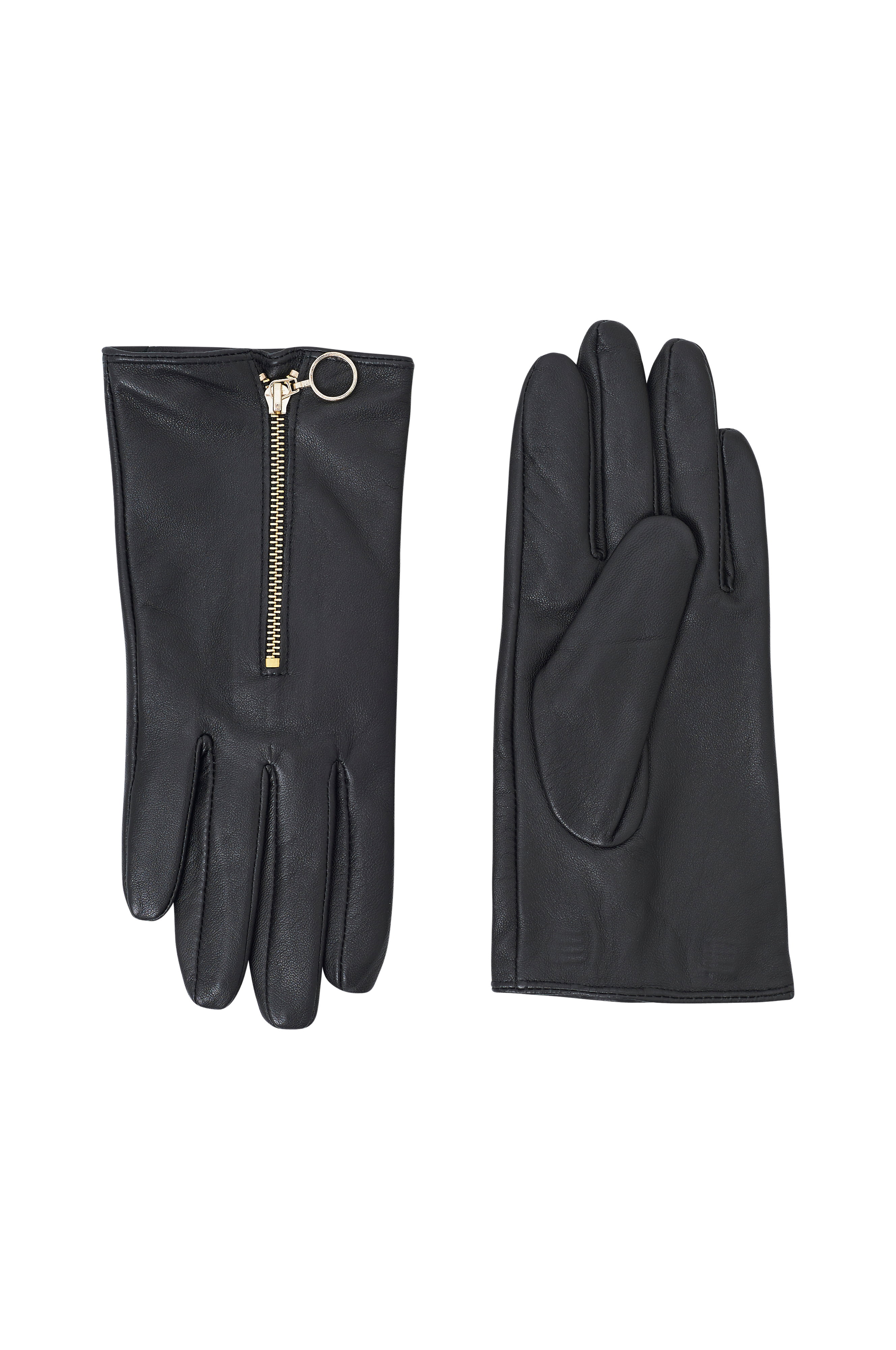 Leather gloves from Ellos Collection