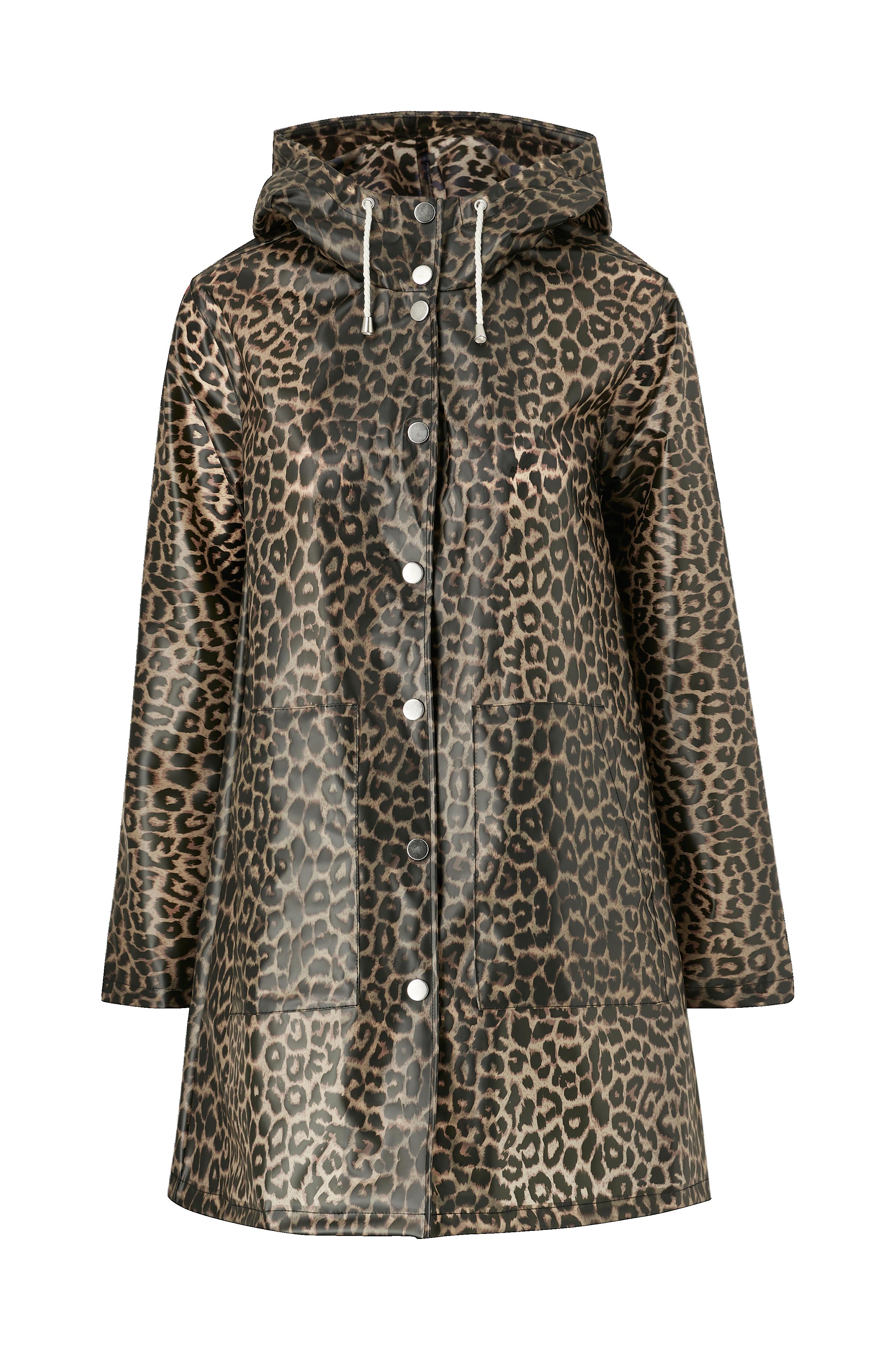 Ellos Collection Regnfrakke Kelly - Brun - Regnjakker & regnfrakker