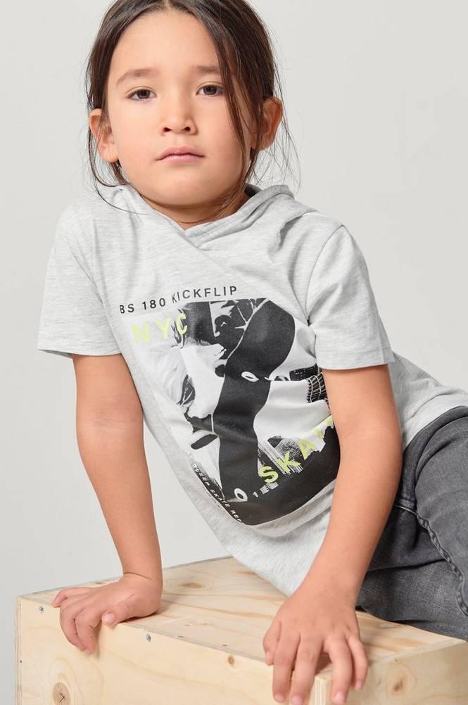 Ellos T-shirt med hætte Christian