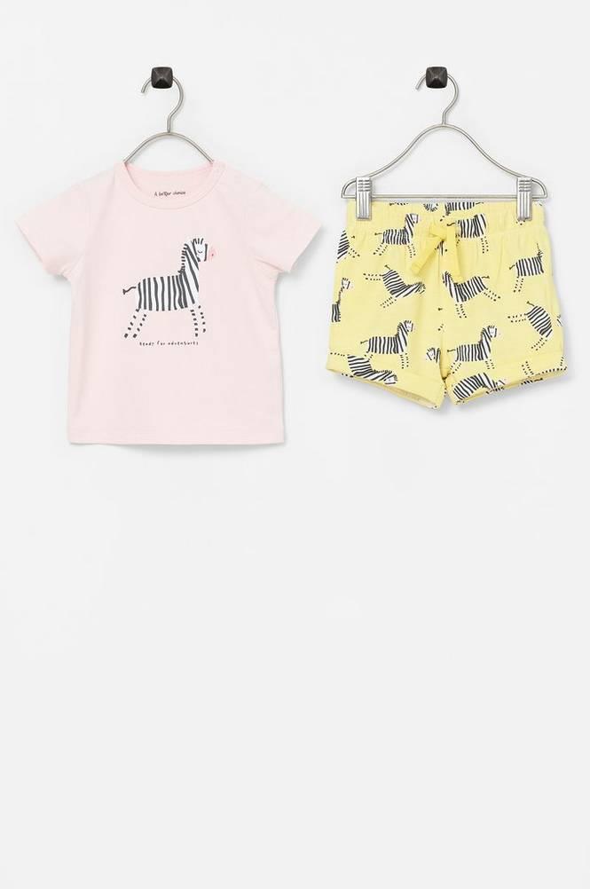 Ellos Shorts + T-shirt Cleo Set