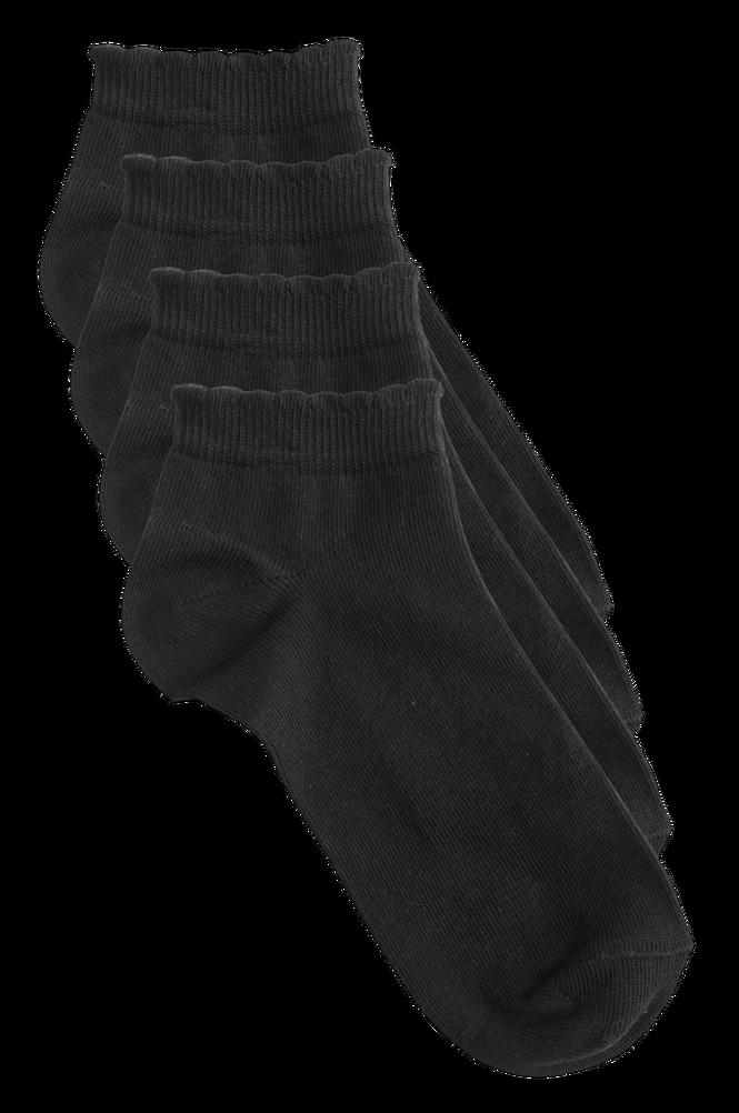 Ellos Ankelsokker af økologisk bomuld - 4-pak