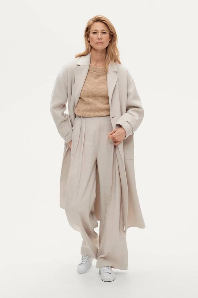 Ellos Frakke Kim Wool Coat