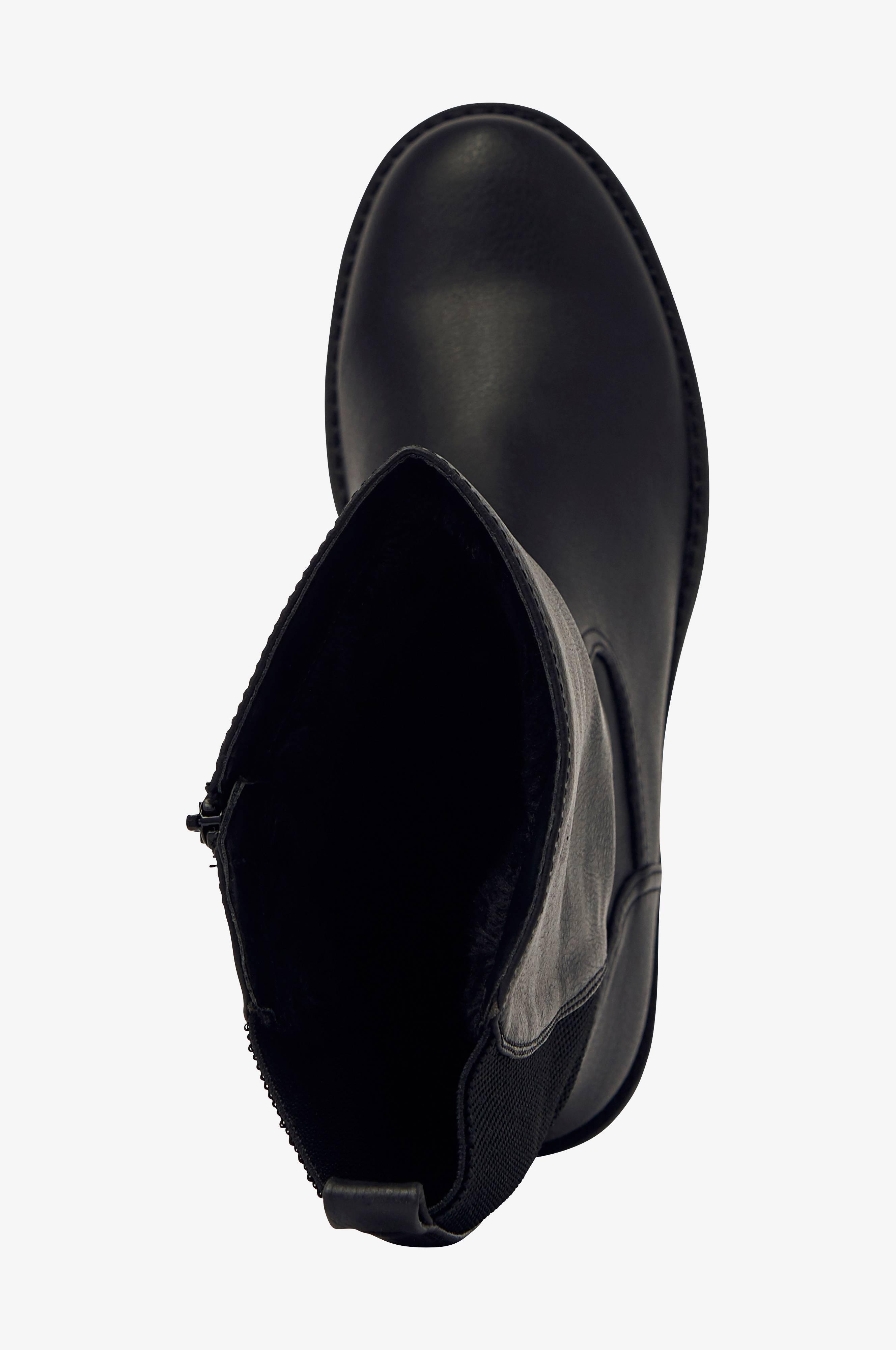 Ellos Shoes Stövlar High Boot Warm Stretch Svart Stövlar