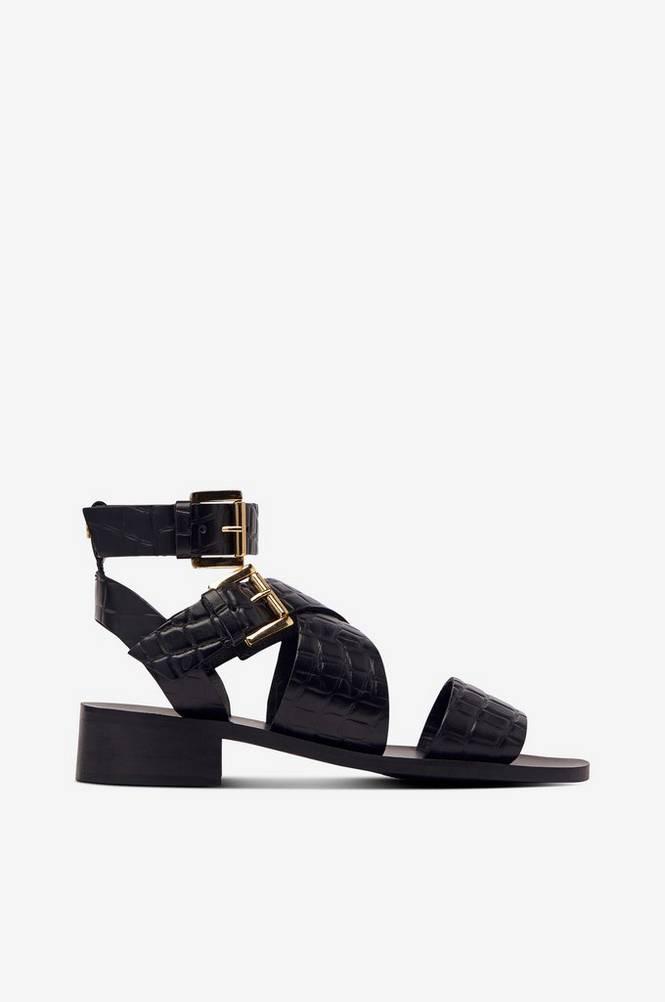 Agnes Cecilia Sandal Low Heel