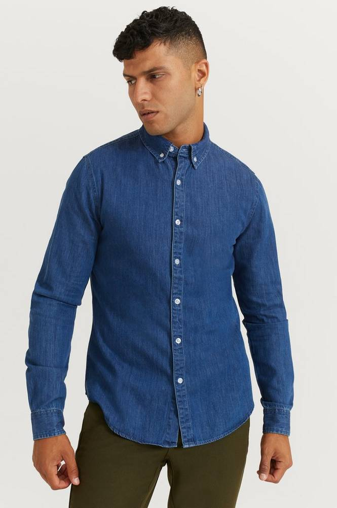 Studio Total Skjorte Classic Denim Shirt