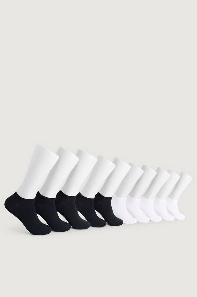 Studio Total Strømper 10-pak Sneaker Socks