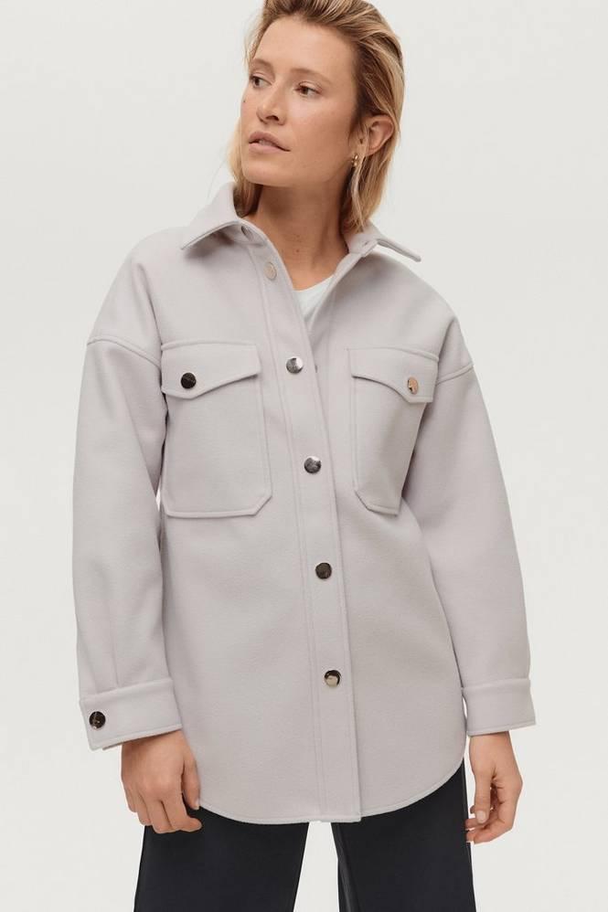 Ellos Skjortejakke Shirt Jacket Amy