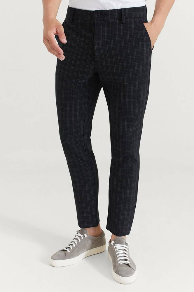 William Baxter Bukser Everyday Trousers Check