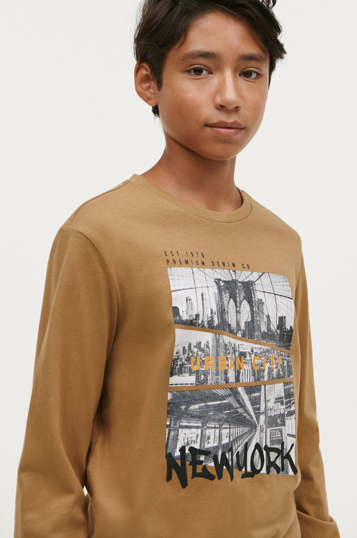 Ellos - T-shirt Caleb - Natur