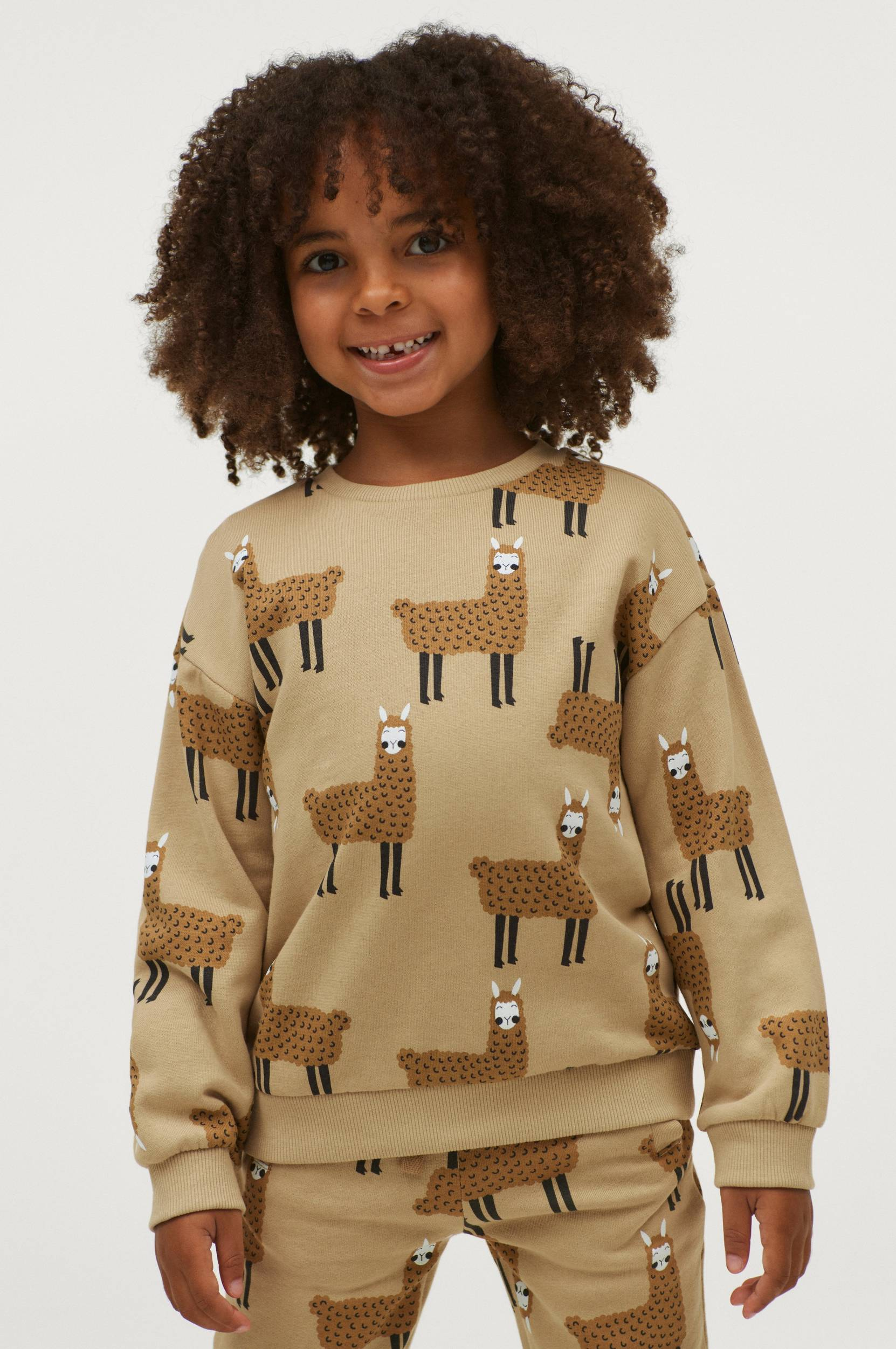 Milly & Willy - Sweatshirt Marley - Natur