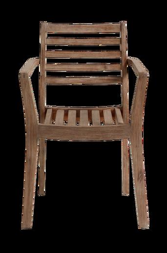 BERKLEY-nojatuoli, jonka runko akasiapuuta.
