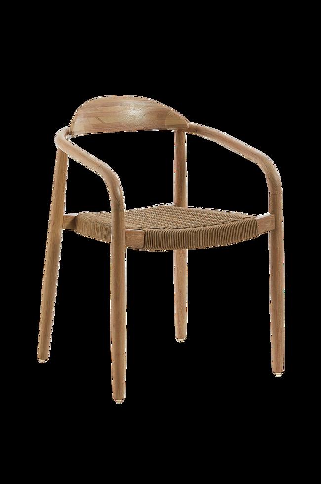 Bilde av GLYNIS stol eukalyptus/tau