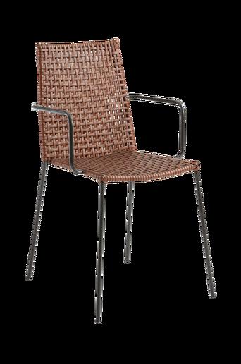 BLAST-nojatuoli metallia/tekonahkaa