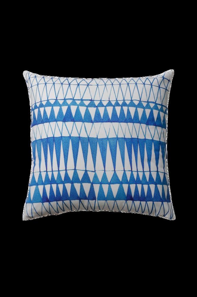 GREECE kudde 45 x 45 cm blå