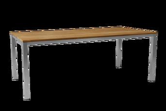 Hinton-ruokapöytä 100 x 200 cm