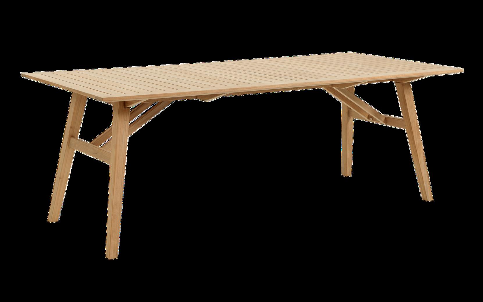 Brafab - CHIOS matbord 100x220 cm - Natur