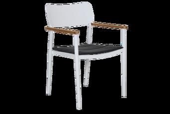 DOMINGO-tuoli, jossa käsinojat