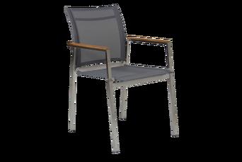 Hinton tyylikäs käsinojallinen tuoli, 6/pakk.