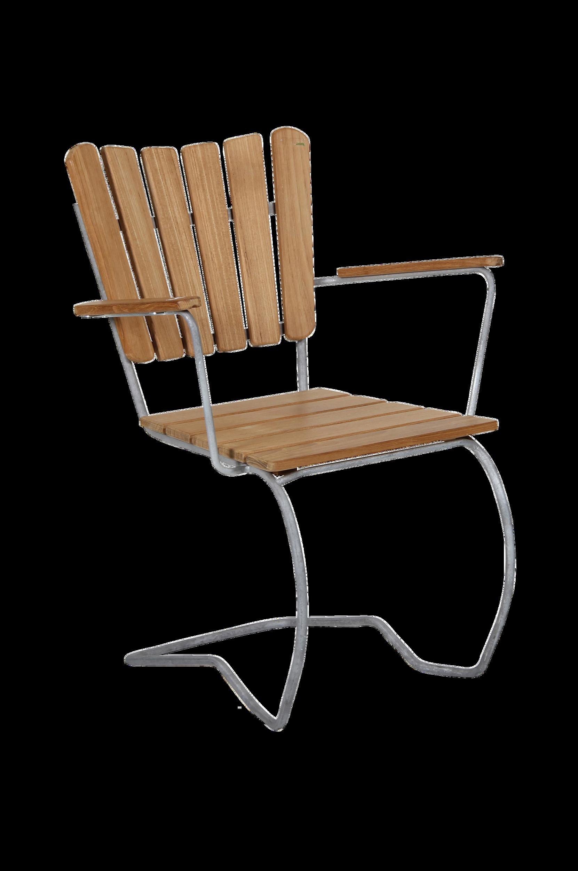 Käsinojallinen 56:an Teak -tuoli