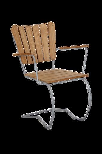 Käsinojallinen 56:an Teak tuoli