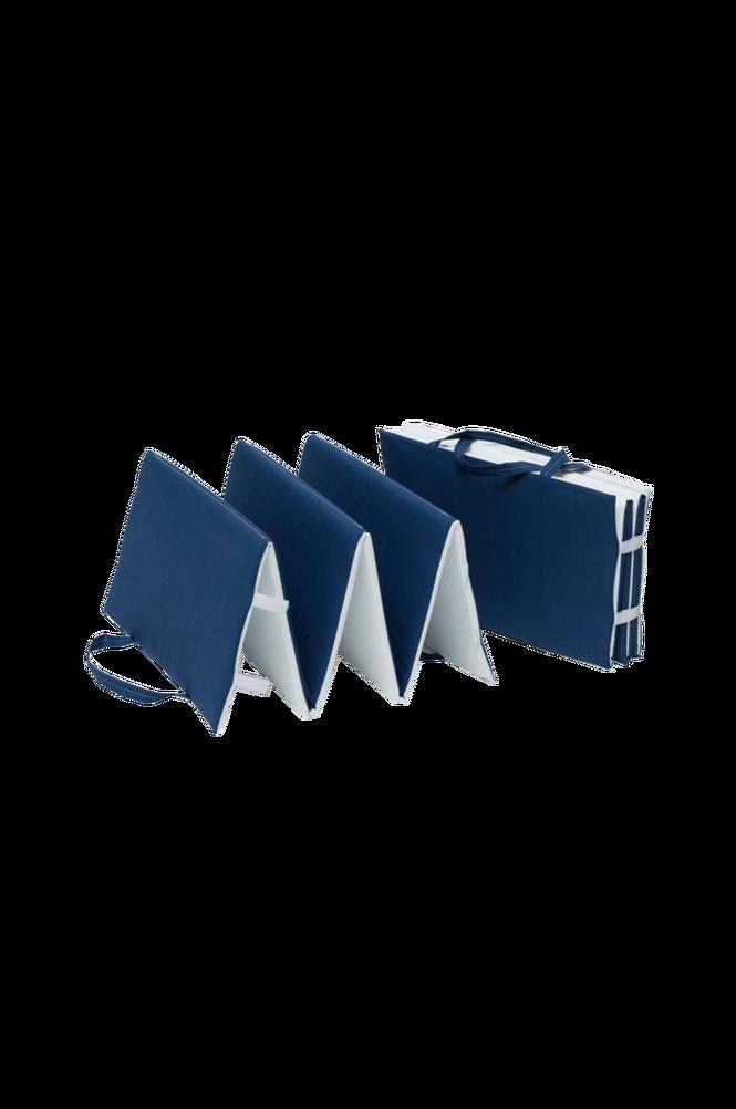 Strandmadrass 50 x 175 cm blå