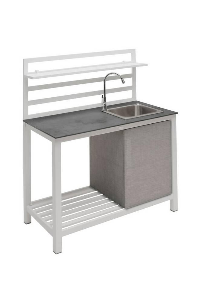 ÅMINNE komplett utekök med vask