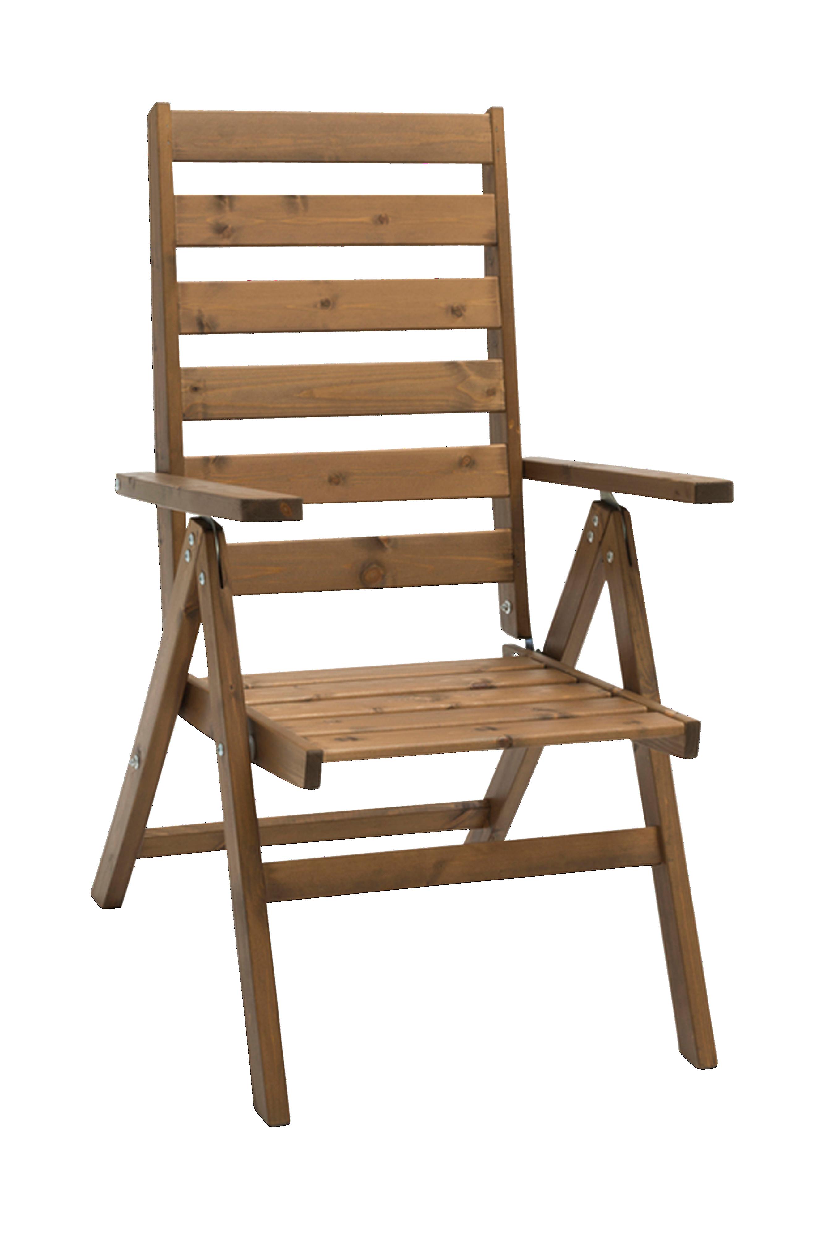 Freja tremøbler posisjonsstol
