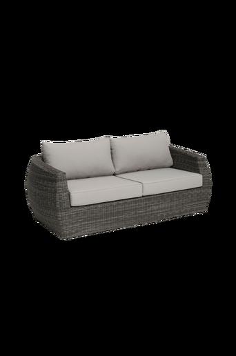 3:n istuttava TARA-sohva, sis. pehmusteet