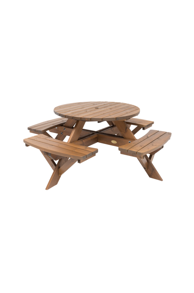 Picnicbord rund Ø110 cm