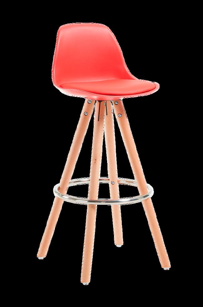 Bilde av STAG barstol rød, 2-pk