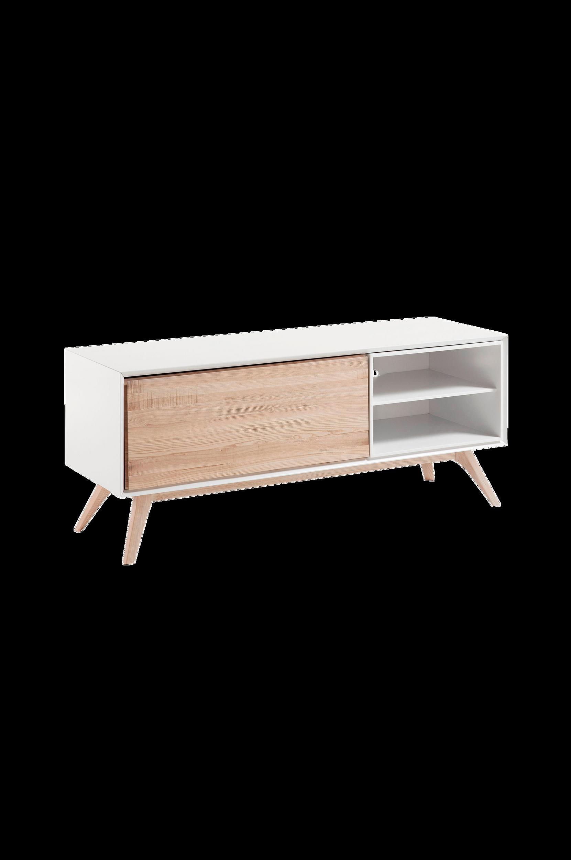 Kave Home - QUATRE tv-bänk 134x56 cm - Natur