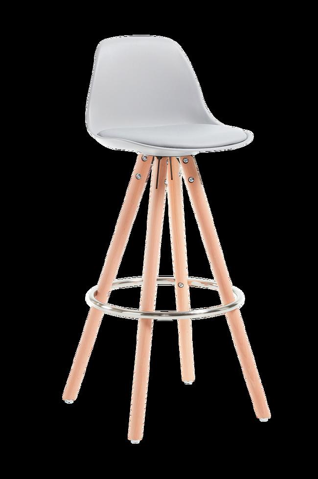 Bilde av STAG barstol hvit, 2-pk