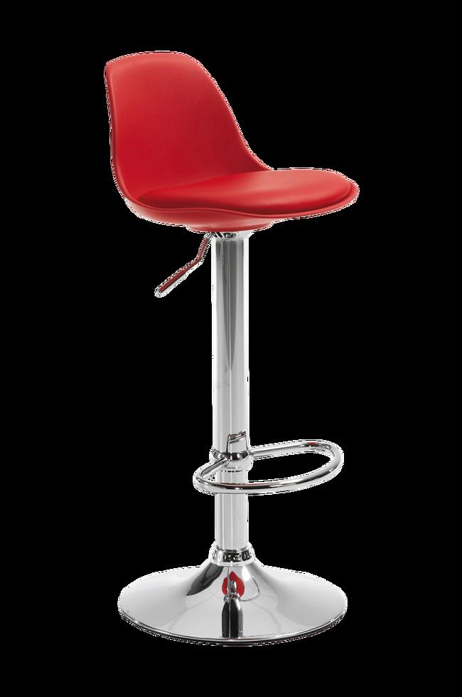 Bilde av ORLANDO-T barstol rød, 2-pk