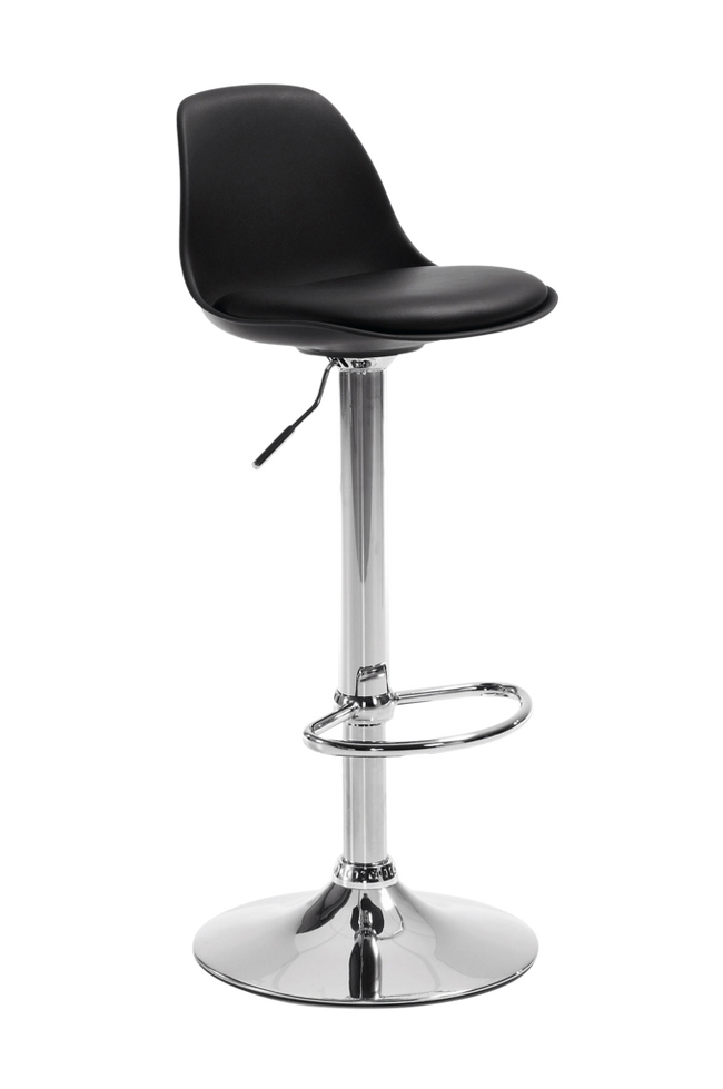 Bilde av ORLANDO-T barstol svart, 2-pk