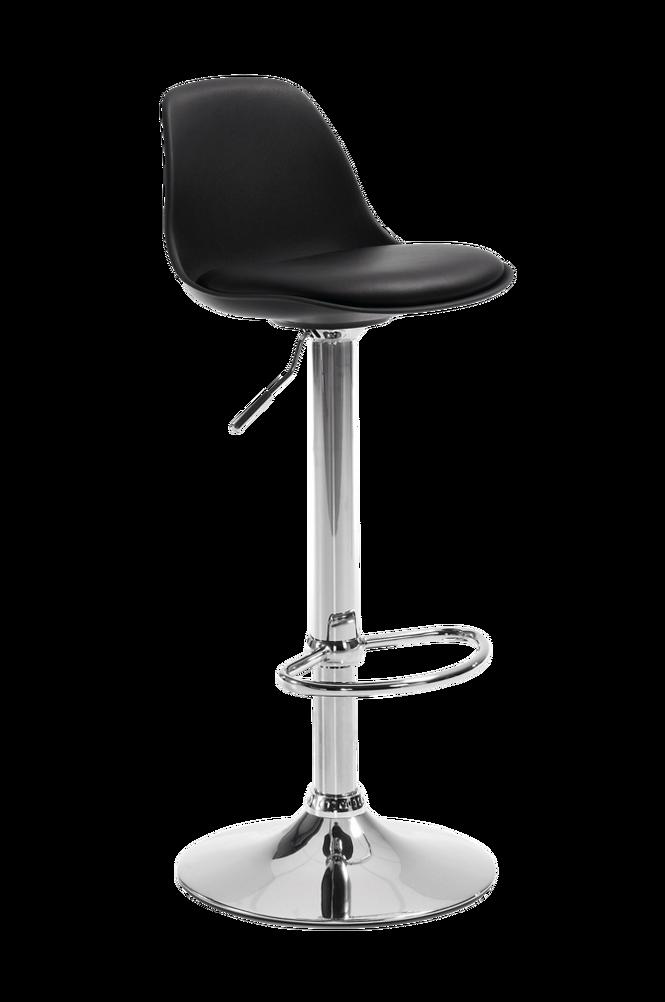 ORLANDO-T barstol svart 2-pack