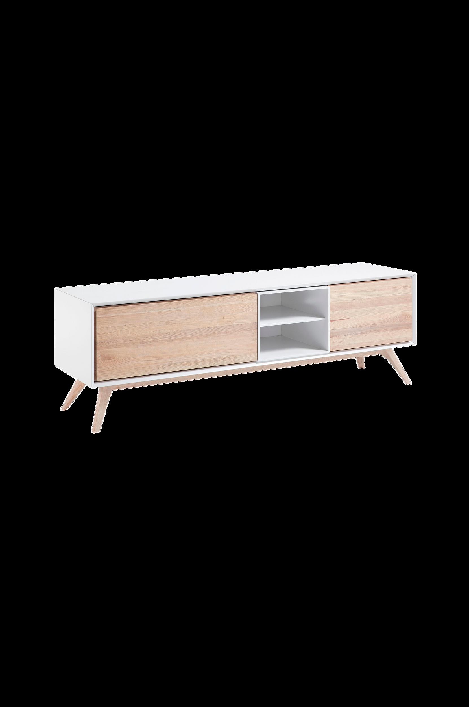 Kave Home - QUATRE tv-bänk 174x56 cm - Natur