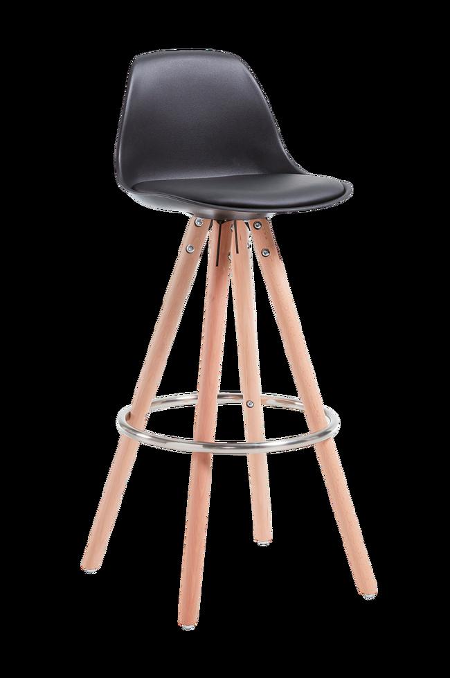 Bilde av STAG barstol svart, 2-pk