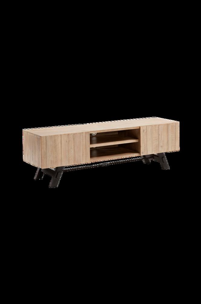 TV-bänk VITA 160×50 akaciaträ