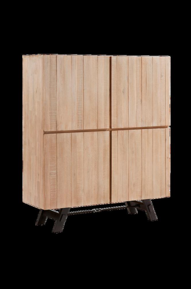 Skåp VITA 120×140 akaciaträ