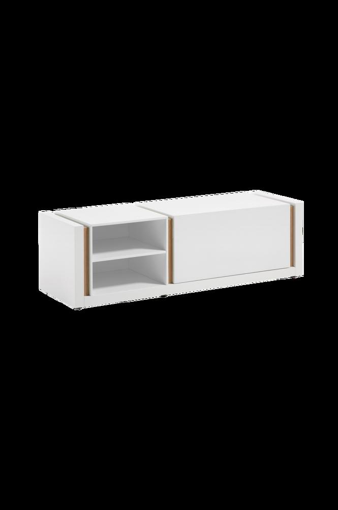 TV-bänk QU 140×42 vit