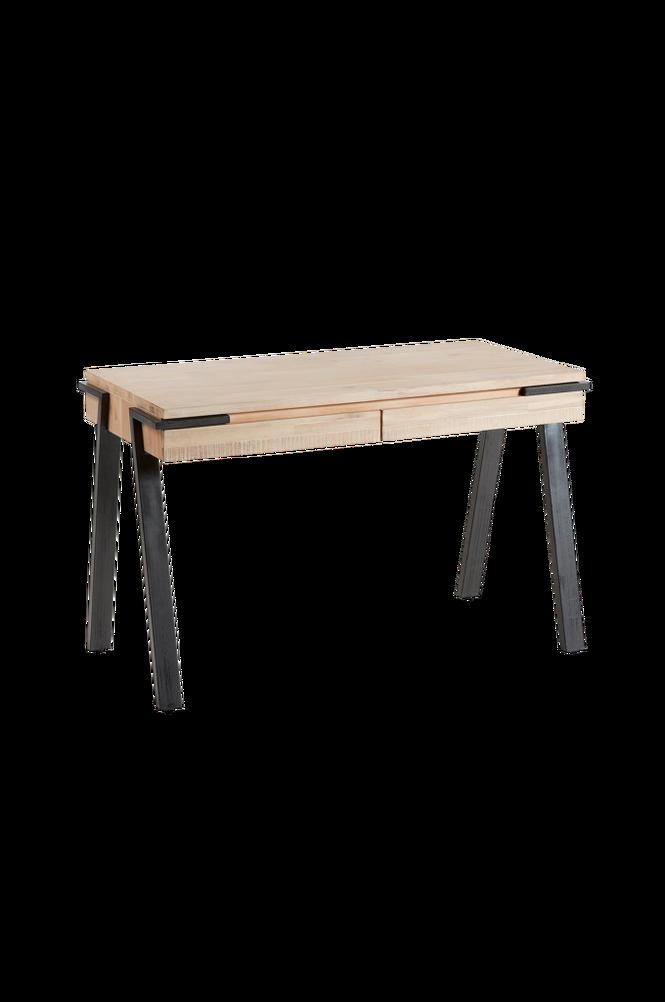 Skrivbord DISSET 125×60 metall/akaciaträ