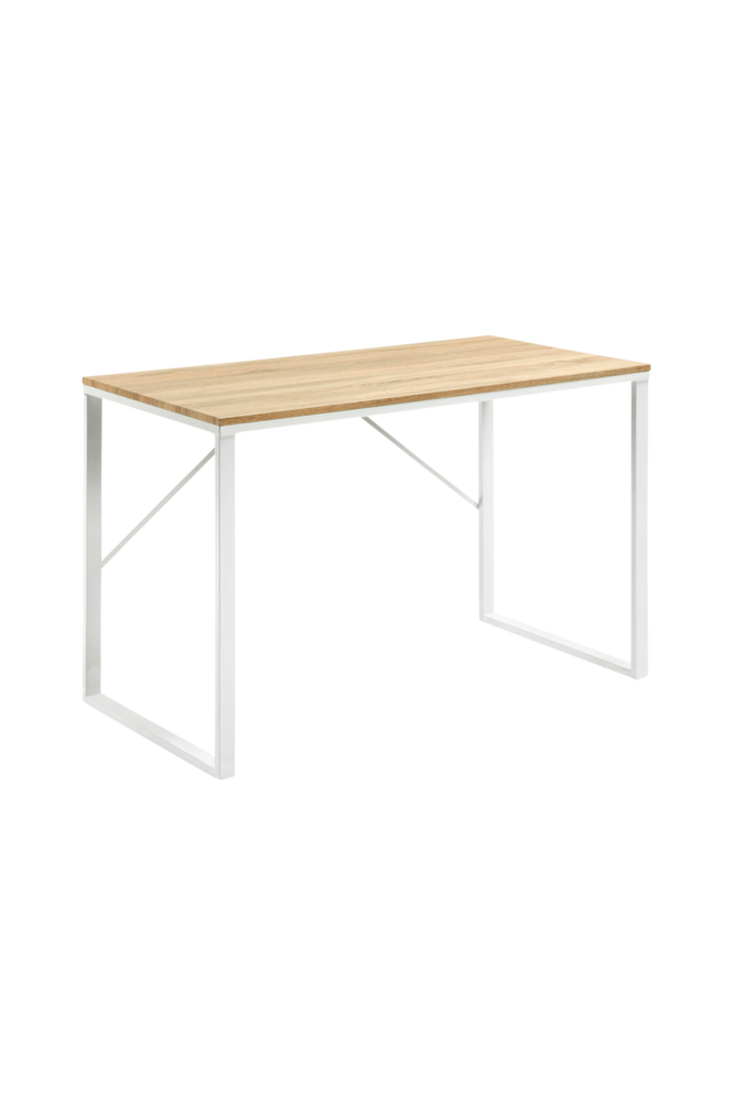 Skrivbord LISBET 120×60 metall/MDF