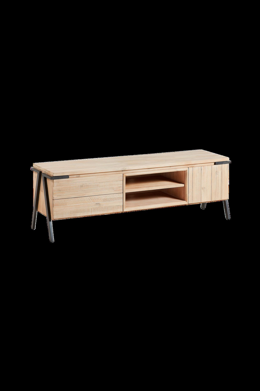 Kave Home - TV-bänk Disset - Natur