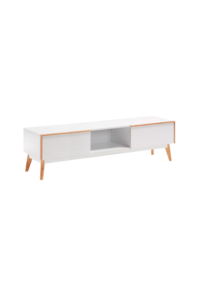 TV-bänk MEETY 150×42,5 vit MDF