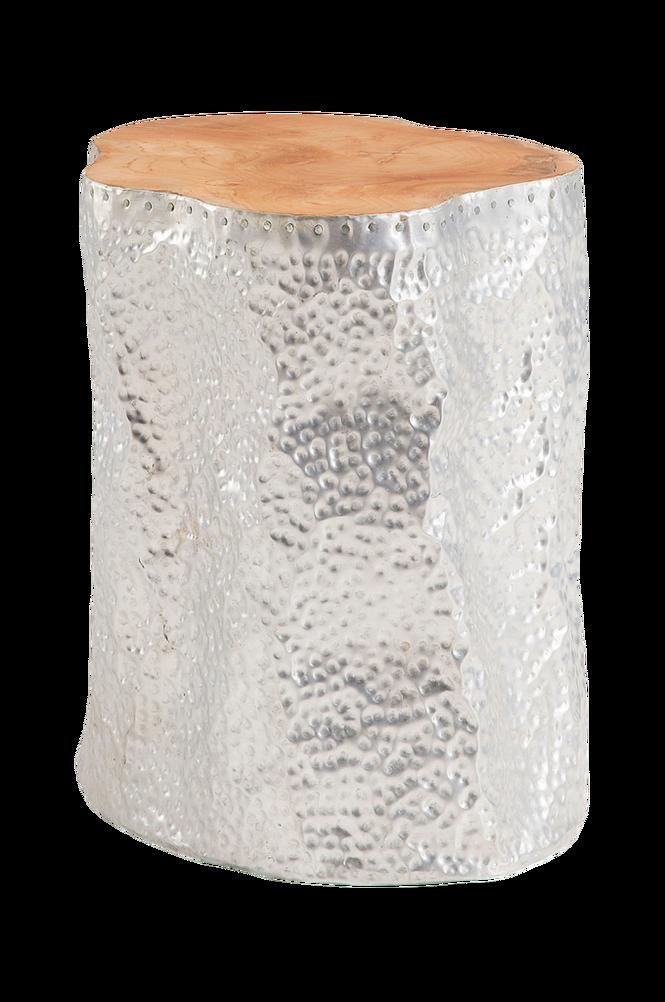 Sidobord HOKO teak/aluminium