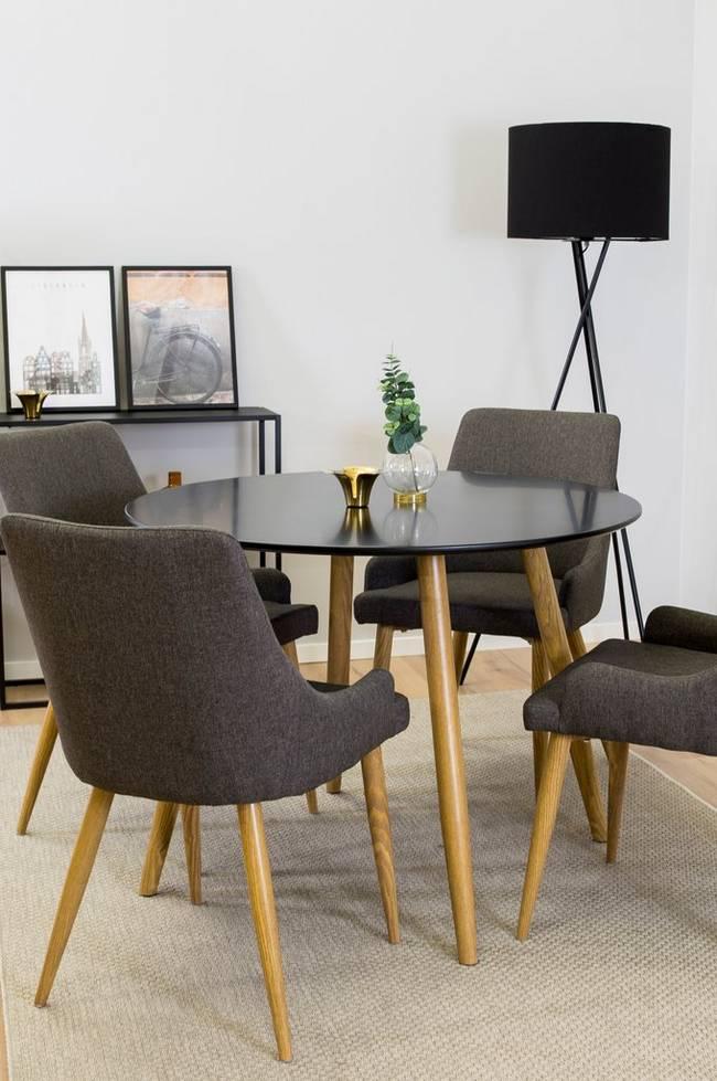 Bilde av Spisegruppe Plaza med bord og 4 stoler