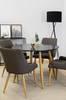 Matgrupp Plaza med bord och 4 stolar thumbnail