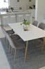 Matgrupp Polar med bord och 6 st stolar thumbnail